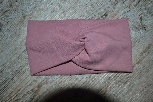 Stirnband/Haarband Feinstrick rosé, KU 46-50cm