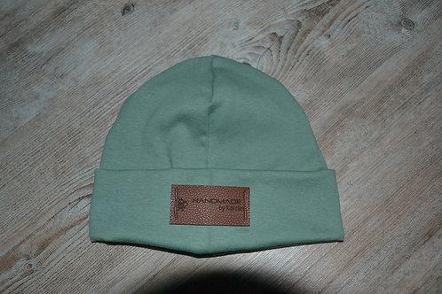 Mütze Feinripp, KU 47-50cm, mint