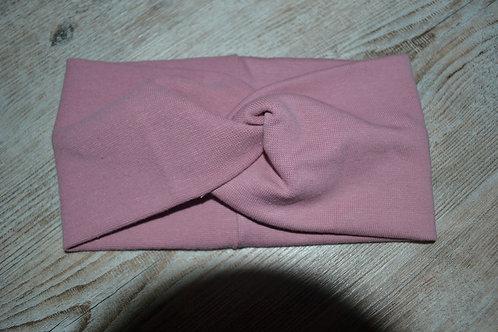 Stirnband/Haarband Feinstrick rosé, KU 52-57cm