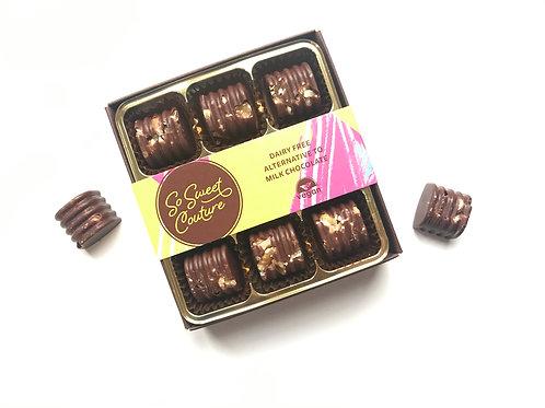 Dairy Free Crushed Walnut Chocolates