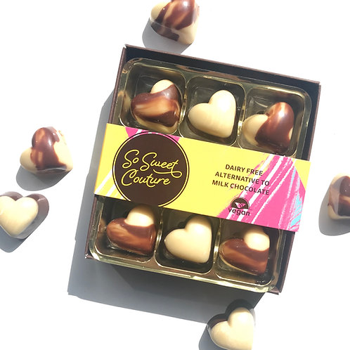 Dairy Free Chocolate Hearts