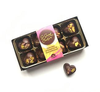 Dairy Free Pistachio Heart Chocolates