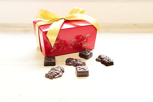 Santas & Presents Gift Box
