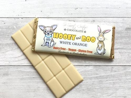 HOOEY and BOO BAR WHITE ORANGE
