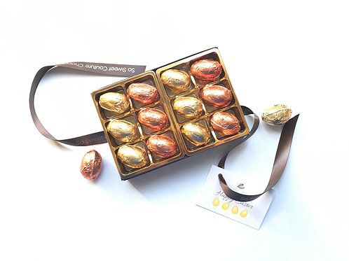 Dairy Free Gift Box of Golden Mini Eggs