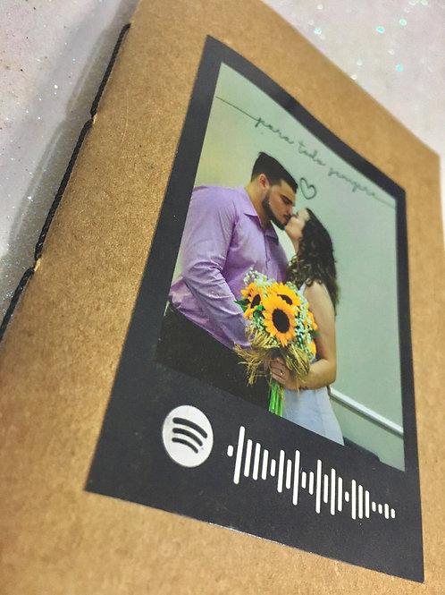 Kit mini álbum + 36 polaroid adesiva