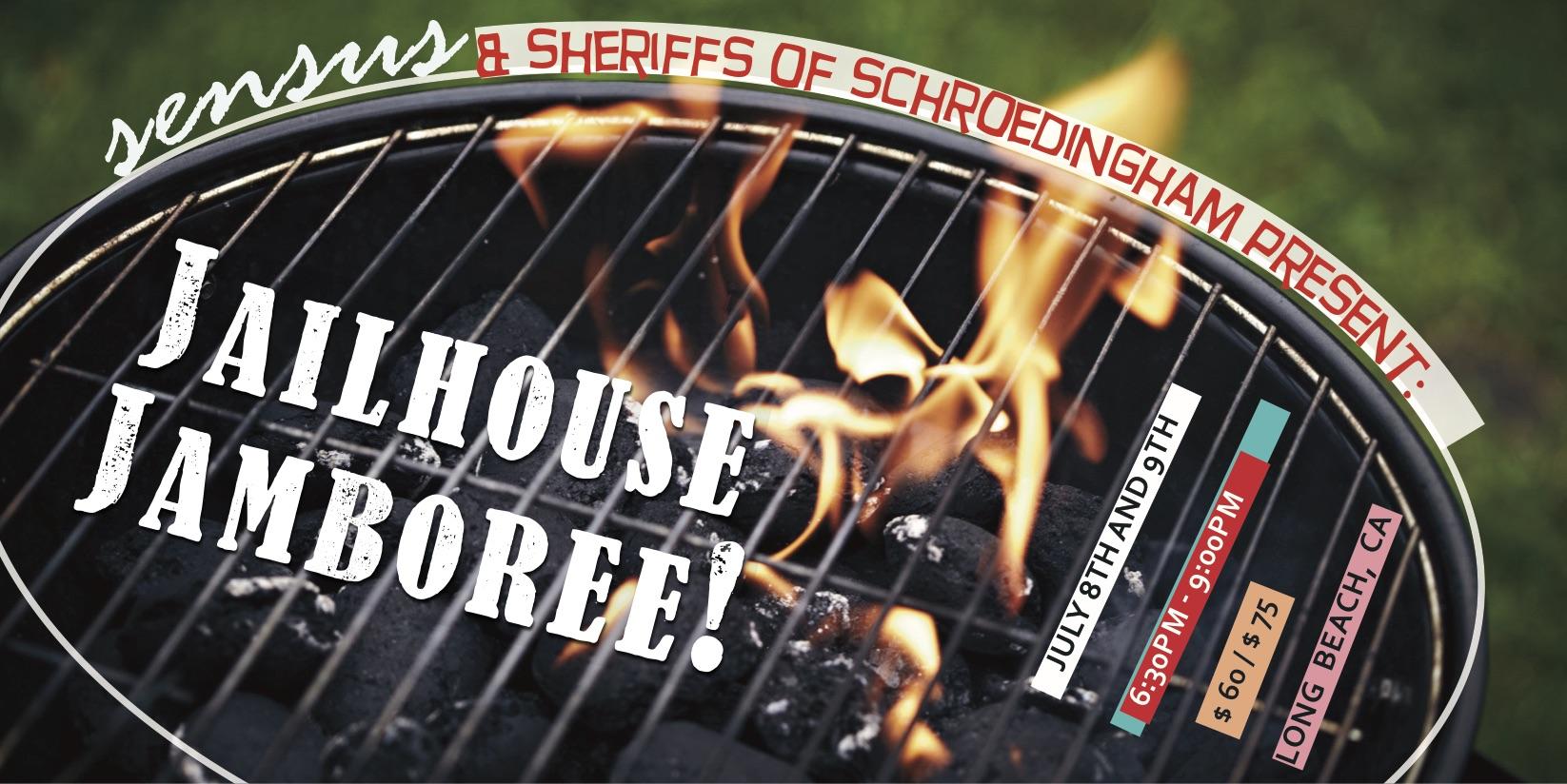 Jailhouse Jamboree Flier