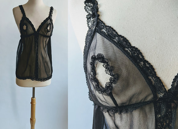 1970s Frederick's of Hollywood risque nightie S