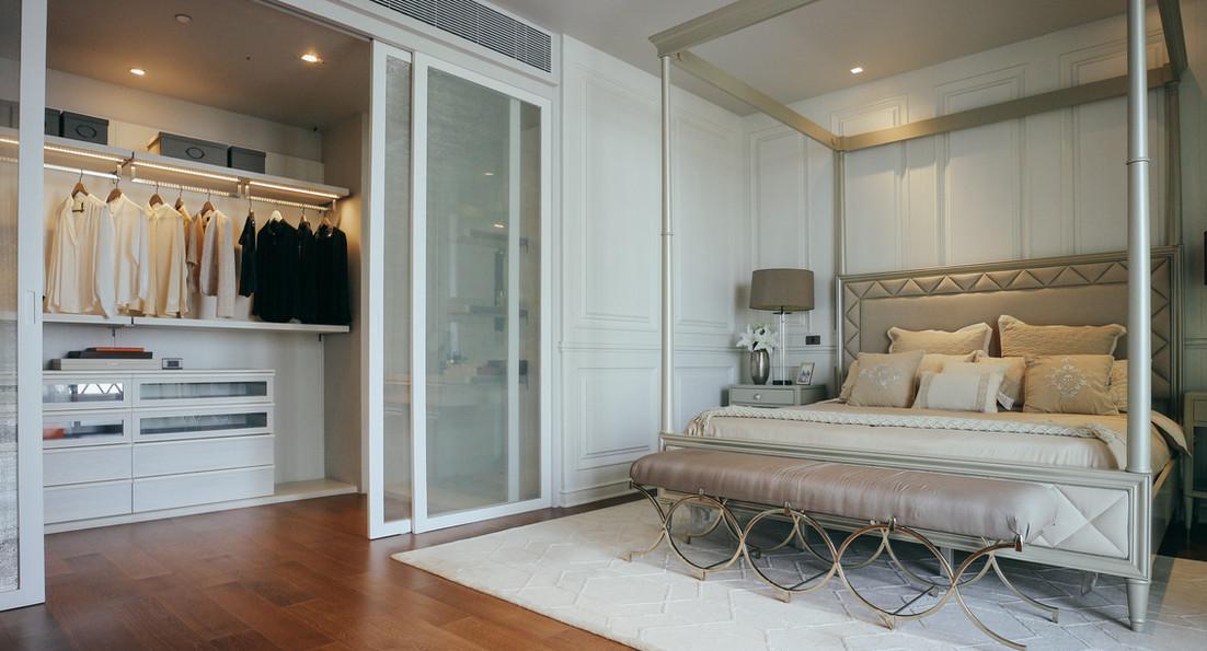 Master Bedroom at Canapaya Residences