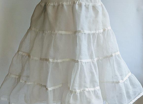 "1950s Florell Petticoat 24-28"" waist"