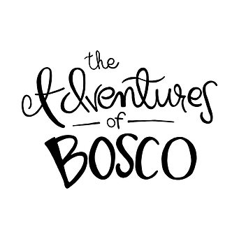 The adventures of Bosco logo white backg