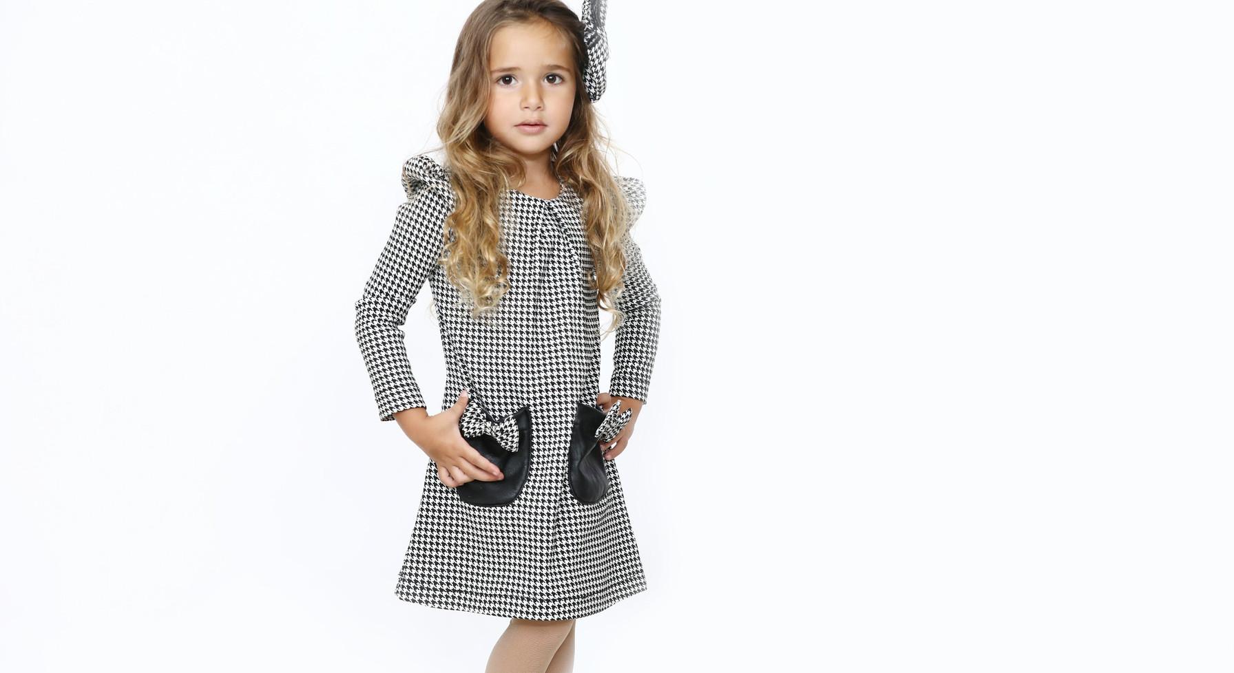 שמלת מייגן malaya   מאליה אופנת ילדים