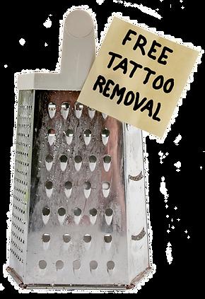 Kostenlose Tattooentfernung