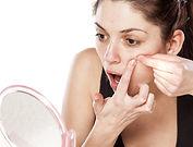 Akne Gesictsbehandlung
