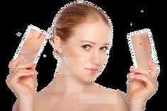 Kosmetik entfernt Couperose