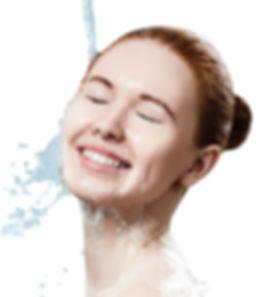 Kosmetische Hautreinigung mit Wasserstoff