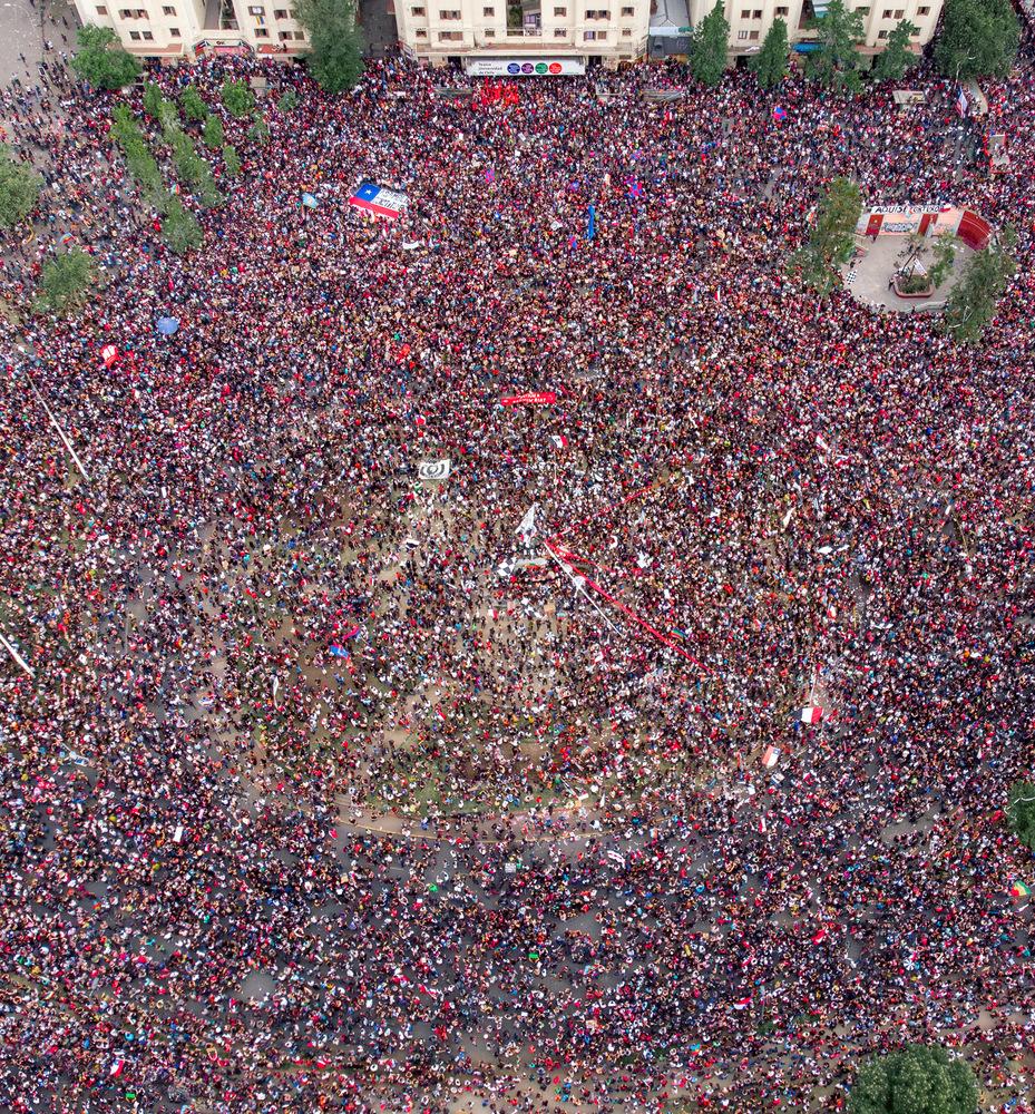 Protestas en Santiago de Chile