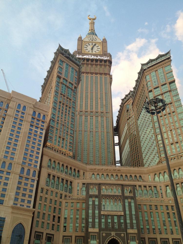 3.Torre del reloj de la Meca