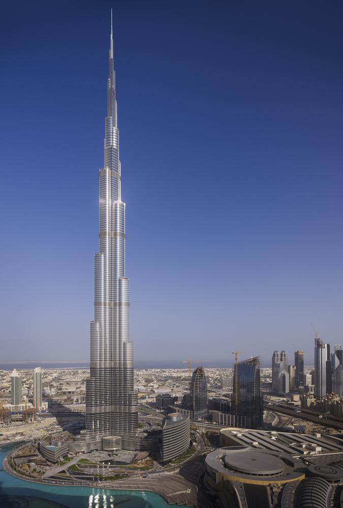 1.Burj Khalifa