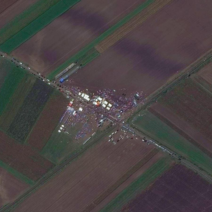 Refugios temporales Hungría