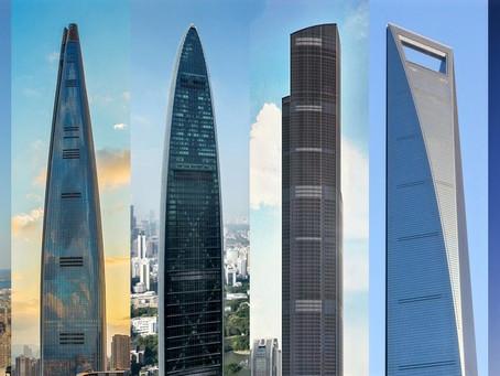 Los 6 edificios más altos del mundo:
