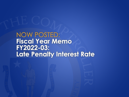 FY2022-03: Late Penalty Interest Rate