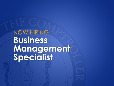 The CTR is seeking a business management specialist for hire