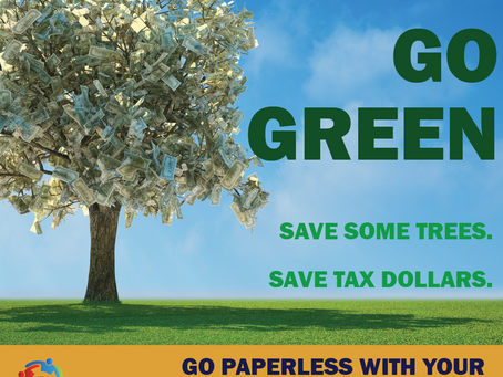 Choose paperless tax forms