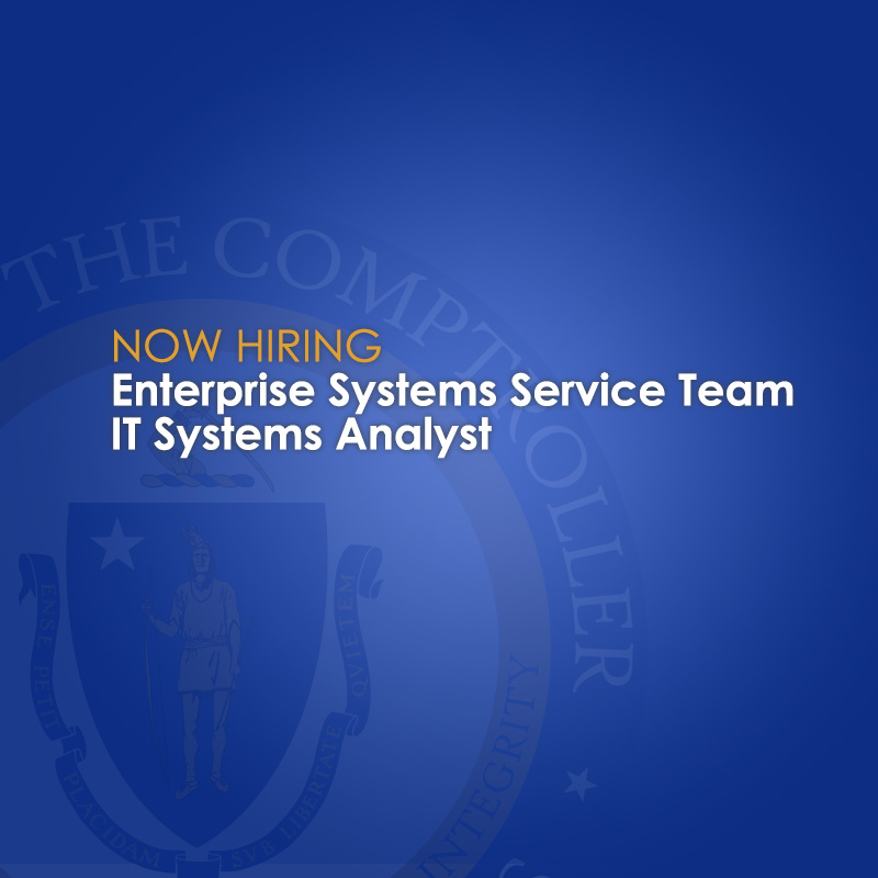 IT systems analyst job posting image