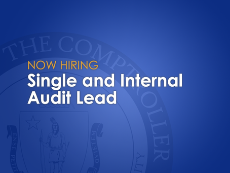 The CTR is hiring! Single and Internal Audit Lead with our Risk Management Team