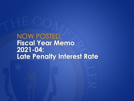 FY2021-04: Late Penalty Interest Rate