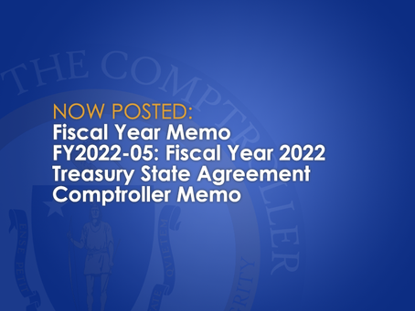 Fiscal Year 2022 Treasury State Agreement