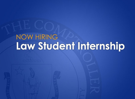 Law Student Internship Summer 2020