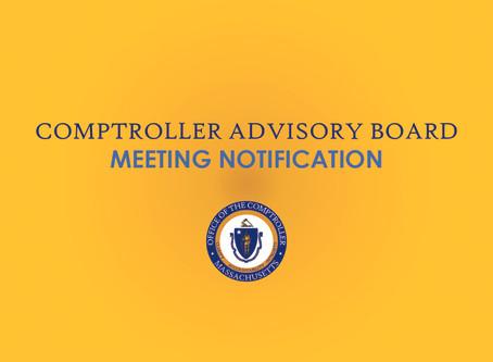 Advisory Board Meeting January 13, 2020