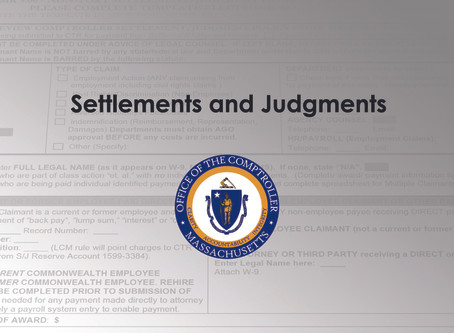 NEW Non-Tort Settlement/Judgment Payment Authorization Form