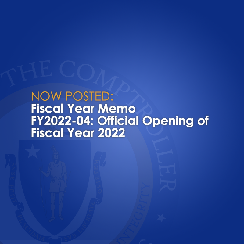 Fiscal Year Memo Opening of FY2022 graphic