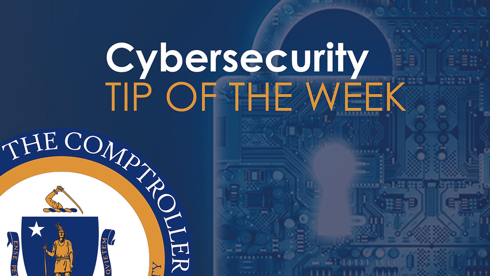Cybersecurity tip image