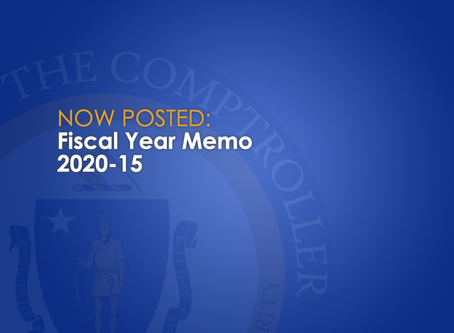 Memo to advise departments in regards to late penalty interest rate for January 1, 2020 – June 30