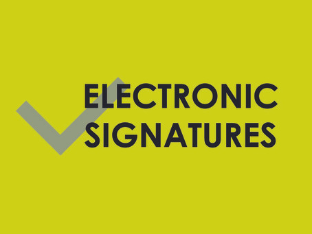 E-Signature solutions coming soon   to both Non-Executive and Executive agencies