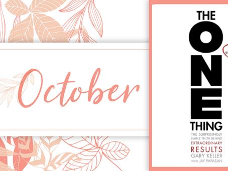 The Upgrade Society: October Book Club