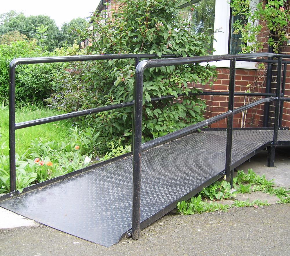 Wheel chair ramp