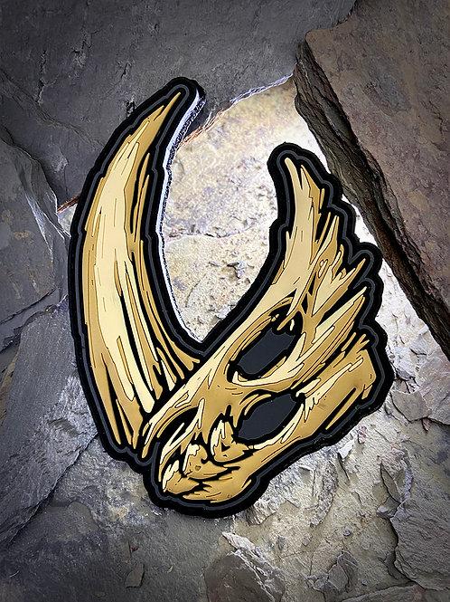 Mudhorn Skull - Ivory