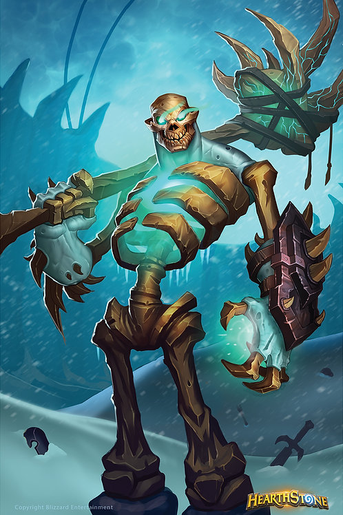 Glacial Bonelord