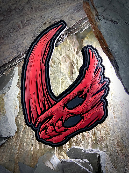 Mudhorn Skull - Blood
