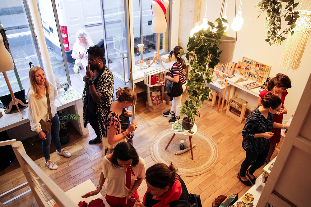 Vernissage Pop-Up Store Wendend Paris
