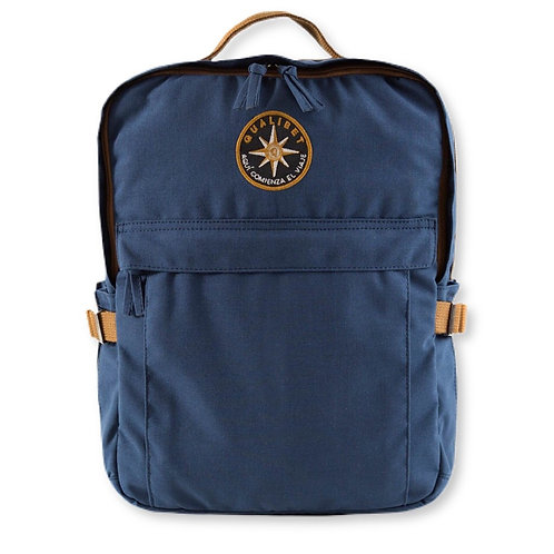 Square backpack Navy (vegan)