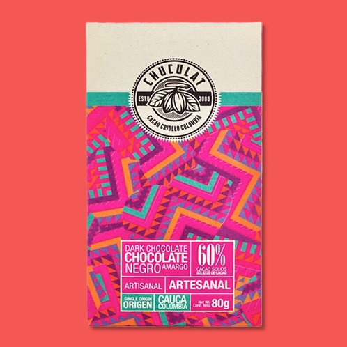Tablette Chuculat 60% cacao