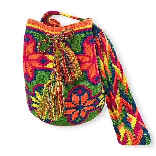 Mochila Wayúu La cruz - Sac à bandoulière