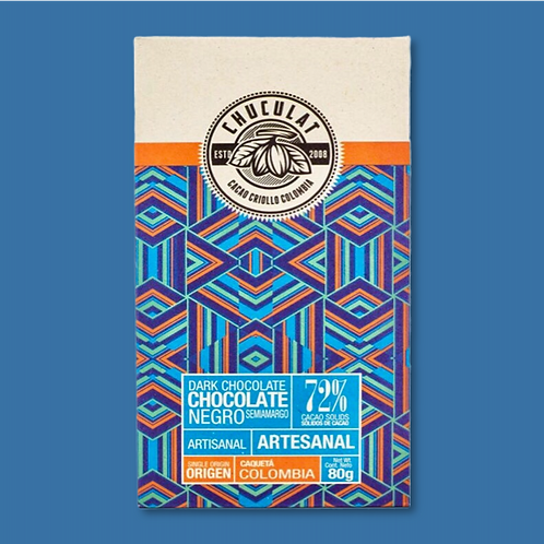 Tablette Chuculat 72% cacao