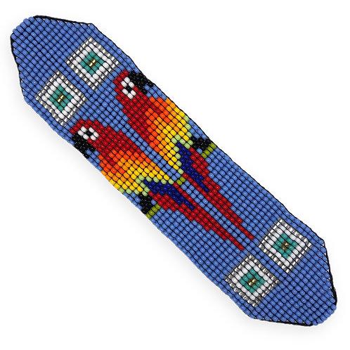 Bracelet papagayos mauve